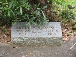 Betty M Bloxton