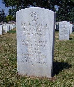 LTC Edward Joseph Barrett