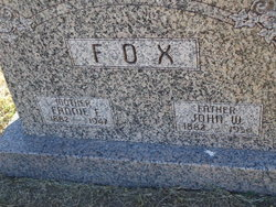 Fannie Elizabeth <i>Halbeisen</i> Fox