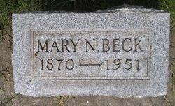 Mary <i>Nelson</i> Beck
