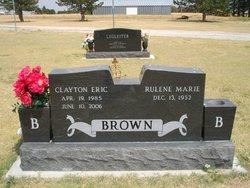 Clayton E Brown