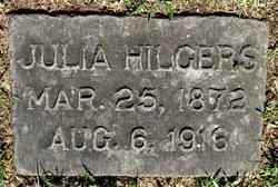 Julia <i>Walsh</i> Hilgers