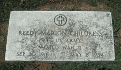 Reedy Marion Childress