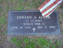 Edward A Acker