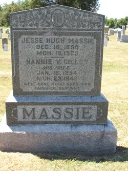Nancy V Nannie <i>Gillen</i> Massie