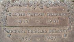 Gladys Taylor <i>Taylor</i> Delaney