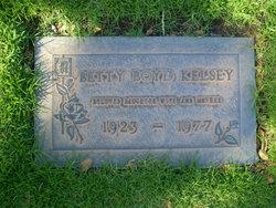 Betty Boyd Kelsey