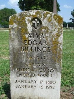 Alva Edgar Billings