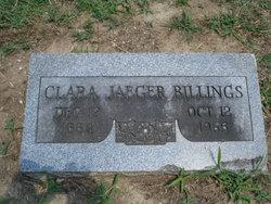 Clara <i>Jaeger</i> Billings