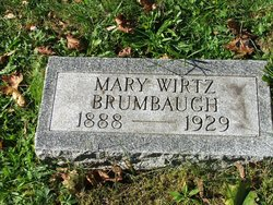 Mary Grace <i>Wirtz</i> Brumbaugh