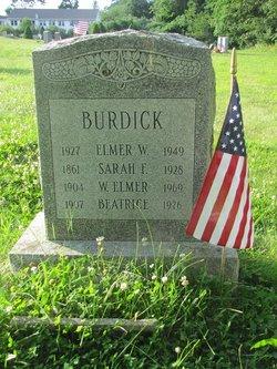 William Elmer Burdick