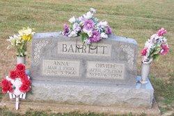 Orville Venell Barrett