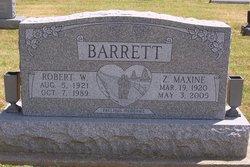 Robert W Barrett