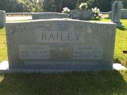 Jemimia Catherine Mima <i>Brooks</i> Bailey