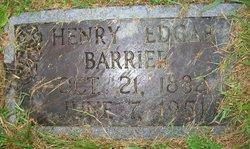 Henry Edgar Barrier