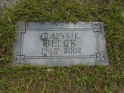 Gladys E Bleck