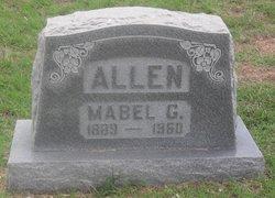 Mabel G Allen