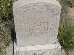 E. P. Carter