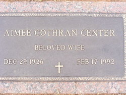 Aimee <i>Cothran</i> Center