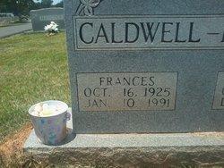 Frances <i>Borders</i> Caldwell