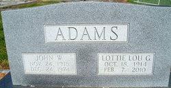 Lottie Lou Adams