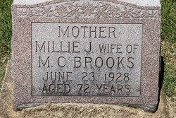 Amelia Jane Millie <i>Hiller</i> Brooks