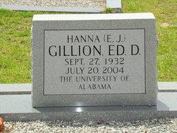 Dr Hanna (E.J.) Gillion
