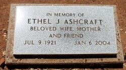 Ethel J <i>Hooper</i> Ashcraft