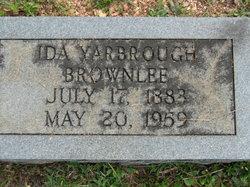 Ida <i>Yarbrough</i> Brownlee