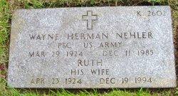 Ruth Ella <i>Smith</i> Nehler