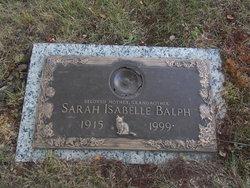 Sarah Isabelle Balph