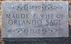 Maude Elizabeth <i>Crandall</i> Sage