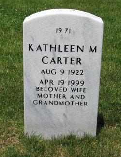 Kathleen M <i>Rempe</i> Carter