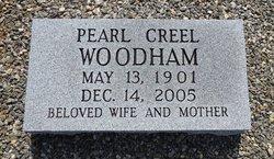 Pearl <i>Creel</i> Woodham