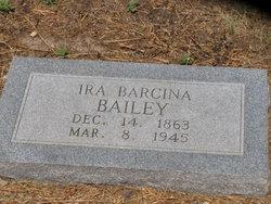 Ira Barcina Bailey