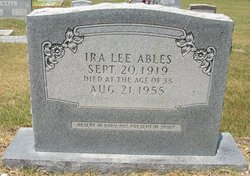 Ira Lee Ables