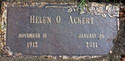 Helen O. <i>Olson</i> Ackert