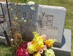 Gloria Daphine <i>Carver</i> Bagby