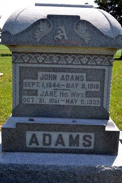 Jane <i>Davis</i> Adams