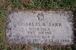 Pvt Charles Barr