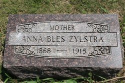 Annigje Geerts Anna <i>Bles</i> Zylstra