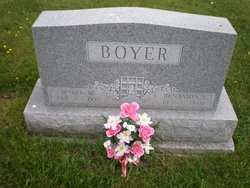 Mabel M. <i>Dillinger</i> Boyer
