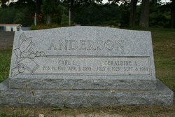 Geraldine Alice Gerry <i>Parson</i> Anderson