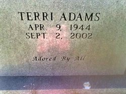 Terri <i>Blough</i> Adams