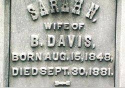Sarah N. <i>Yolton</i> Davis