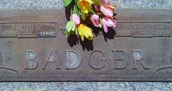 John Fields Badger