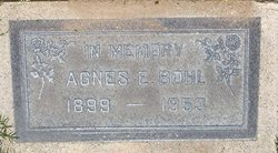 Agnes E <i>Nielsen</i> Bohl