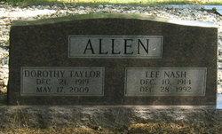 Dorothy <i>Taylor</i> Allen