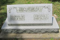Marion M Augspurger