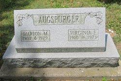 Virginia E <i>?</i> Augspurger